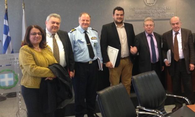 Συγχαρητήρια Μιχάλη Βρεττού, στο νέο Αρχηγό της Ελληνικής Αστυνομίας
