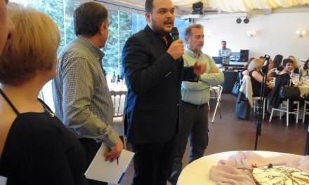 Kοπή πίτας του Συλλόγου Εργαζομένων Δήμου Αχαρνών με επίσημο προσκεκλημένο τον Μιχάλη Βρεττό
