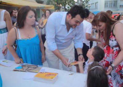 Ως Πρόεδρος των Παιδικών Σταθμών διοργάνωσε τη μεγαλύτερη γιορτή των παιδικών σταθμών του Δήμου στην Κεντρική Πλατεία Αχαρνών