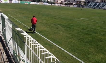Ο Αντιδήμαρχος Μιχάλης Βρεττός παραδίδει το γήπεδο του Αχαρναικού έπειτα από την ανάπλαση