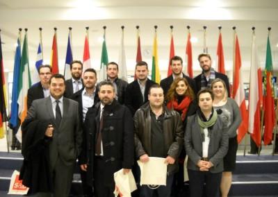 Με Ελληνική ντιπροσωπεία νέων Αυτοδιοικητικών στο Ευρωκοινοβούλιο στις Βρυξέλλες