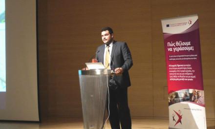 Πανελλήνια διάκριση των ΚΑΠΗ του δήμου Αχαρνών και τον Πρόεδρο Μιχάλη Βρεττό