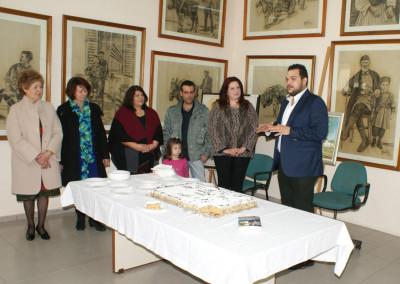 Δημόσια δήλωση στήριξης προς τη λέσχη φίλων Δημοτικής Πινακοθήκης Χρήστος Τσεβάς