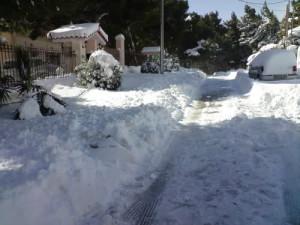 Χιόνια Θρακομακεδόνες Δεκέμβριος 2016