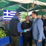 Σε όλες τις λαϊκές αγορές του Δήμου ο Μιχάλης Βρεττός