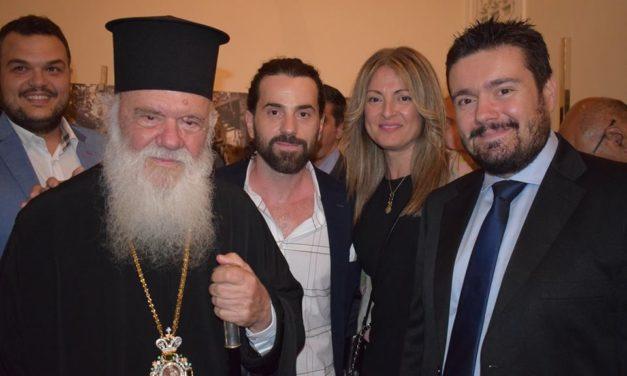 Συνάντηση Μιχάλη Βρεττού με τον Αρχιεπίσκοπο Αθηνών και πάσης Ελλάδος
