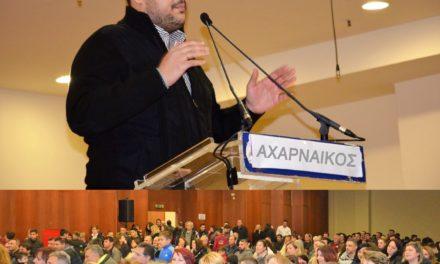 Ο Αχαρναϊκός είναι ιδέα, δήλωσε ο Μιχάλης Βρεττός και έγινε χαμός (βίντεο)