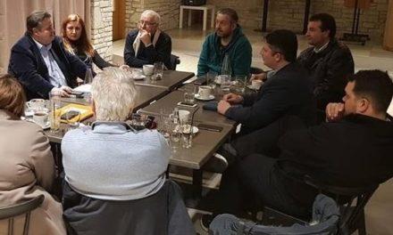 Συνάντηση με ενεργούς κατοίκους των Θρακομακεδόνων είχε ο Αντιπρόεδρος του Δημοτικού Συμβουλίου