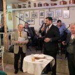 Ο Μιχάλης Βρεττός στην εκδήλωση του συλλόγου Αγίου Δημητρίου