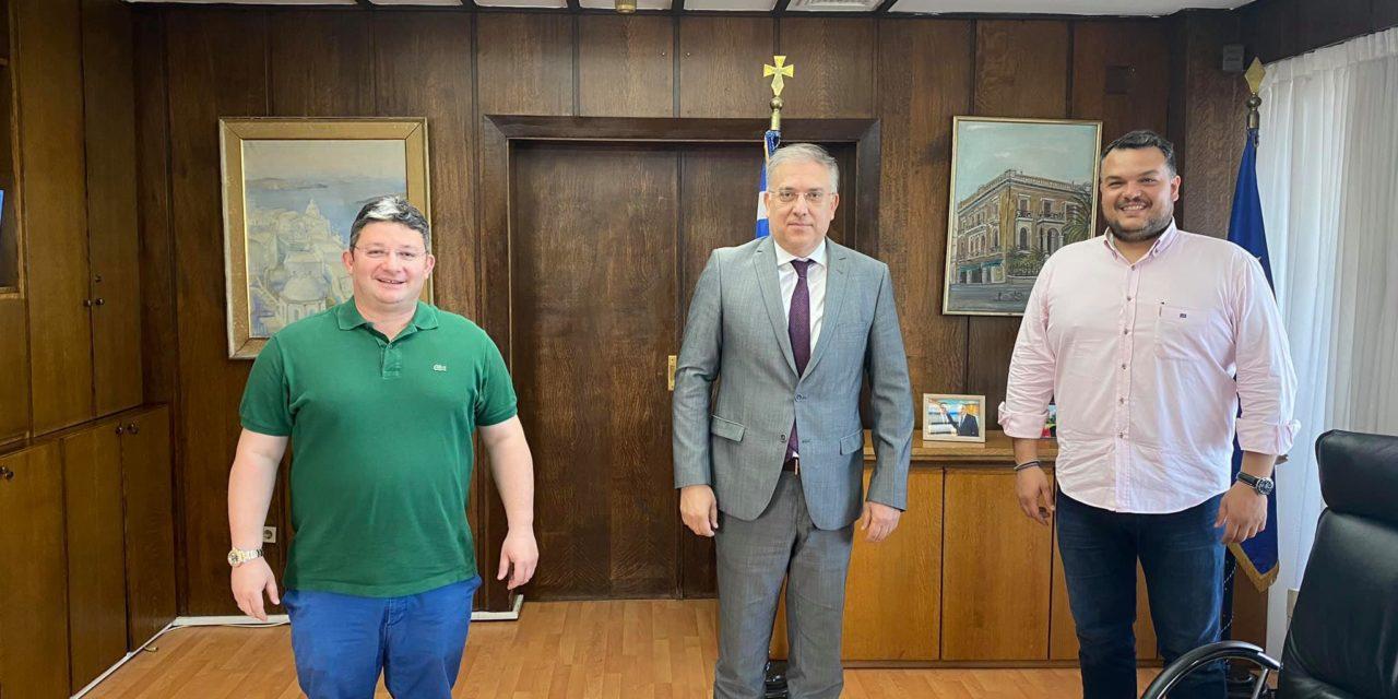 Νέα εποχή για το Δήμο Αχαρνών με τις υπογραφές Θεοδωρικάκου και Βρεττού
