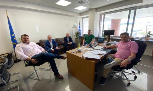 Συνάντηση με τον Αντιπεριφερειάρχη Οικονομικών κ. Νίκο Πέππα